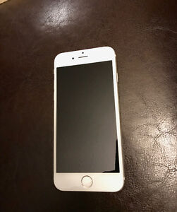 iPhone 6 128GB white Silver Mint Condition