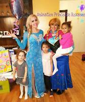 Fêtes d'enfants à domicile - Princesse, Reine etc