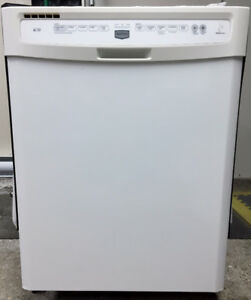 White Maytag Built-In Dishwasher with full Stainless Steel Tub