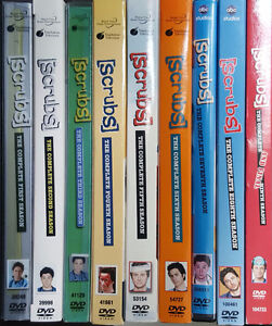 Scrubs Seasons 1-9 on DVD