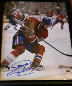 Erik Cole Montreal Canadiens autographed NHL Hockey picture
