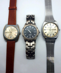 Waltham Seiko Ricoh Watch Lot