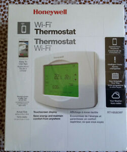 Touchscreen Thermostat - RTH8580WF - Wi-Fi / 7 Day Programmable