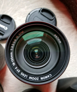 Canon ef-s 18-135mm IS stm