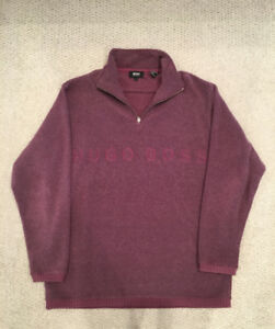 Hugo Boss men's fleece pullover