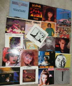 45 Rpm Asia Lionel Ritchie Billy Squire Petty Ozzy Brian Adams