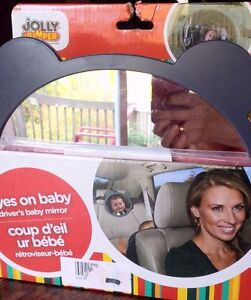 Jolly Jumper safety first driver's baby mirror