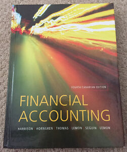 Financial Accounting - Fourth Canadian Edition