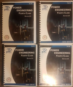 4th Class Power Engineering Books w/ Academic Supplement