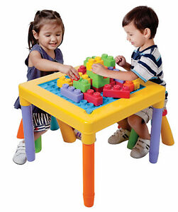 NEW: PLAYGO 'My Play Table' With 2 Stools -