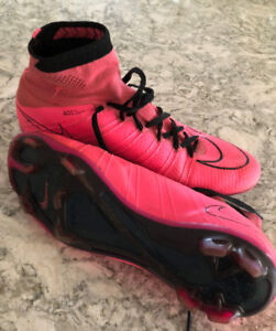 [USED] Nike Pink Mercurial Superfly SIZE 9