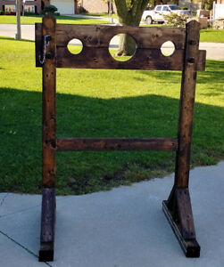 Pillory Halloween Decor