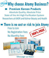 Better and Healthier Lifestyle with ATOMY - residual income
