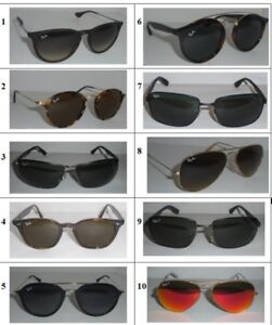 GENUINE Ray-Ban Sunglasses Pre-Owned - Pick Your Pair