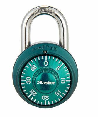 Master Lock 1-78 In. 3-digit Combination Steel Padlock