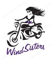 "Female Motorcycle Riders ""WindSisters"""