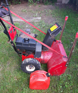8hp snowblower FOR SALE $100