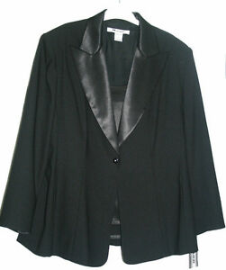 New never worn - Black Tuxedo Jacket size 20+ London Ontario image 2