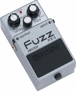 Boss Fuzz Pedal