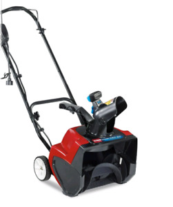 Electric snow blower - Toro 1500 Power curve