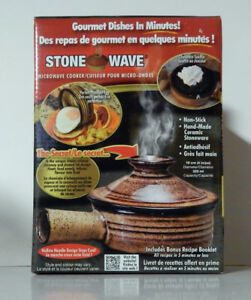 Stone Wave – Microwave Cook Pot NEW