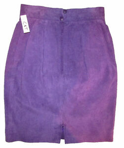 DANIER Leather Purple Suede Skirt Gatineau Ottawa / Gatineau Area image 4