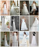 Tailles 2 4 6 8 10 12 14 16 18 20 - Robe blanche