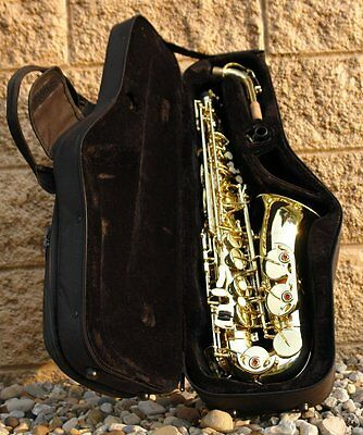 New 2016 ALTO Saxophone Sax w/ Case & Yamaha Care Kit ♫♫♫♫ WHY RENT???