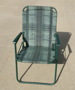 3 LAWN CHAIRS FOR $10