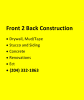 Front 2 Back Construction