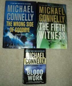 3 Novels by Michael Connelly