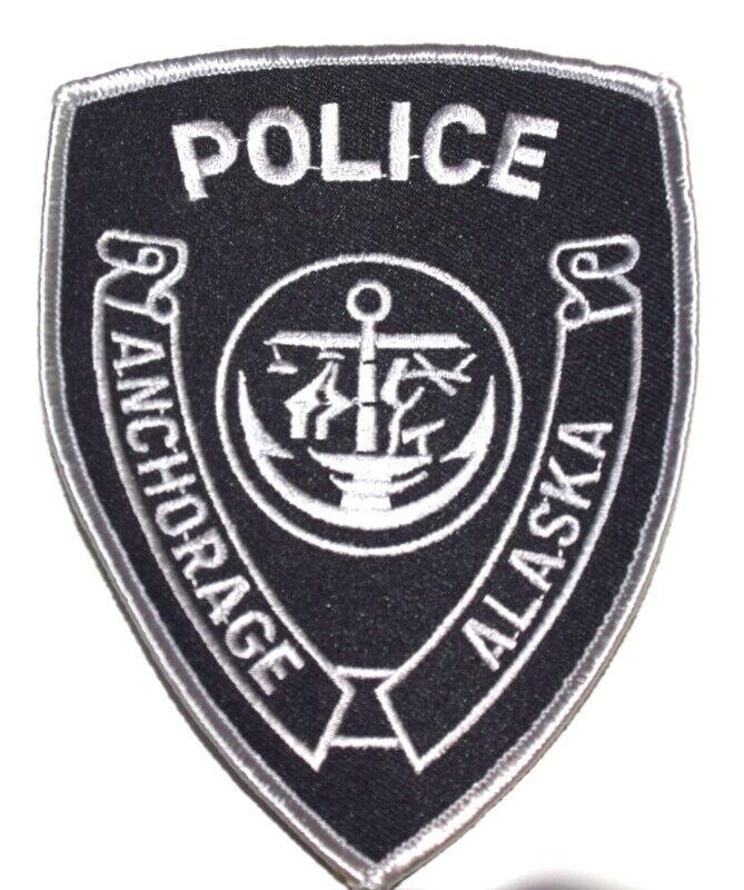 ANCHORAGE – SWAT - ALASKA AK Sheriff Police Patch ANCHOR CITY SEAL LOGO ~