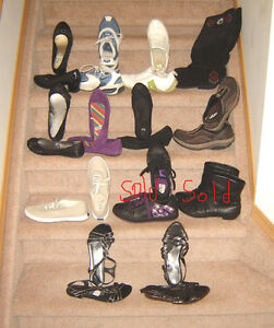 Ladies Footwear - size 8, 8.5