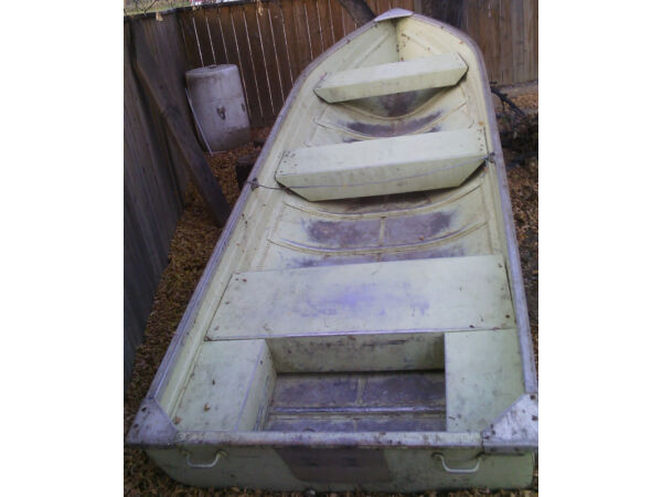 Used 1975 Mirrocraft/Northport 16 Foot Mirrocraft Wide Bottom Aluminum Boat
