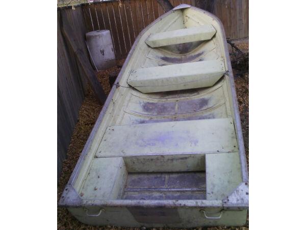 Used 1975 Mirrocraft/Northport 16 Foot Mirrocraft Wide Bottom Aluminum Boat
