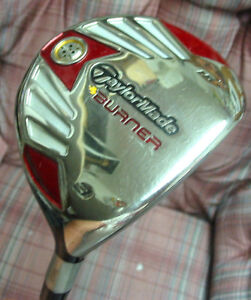 2008 Taylormade Burner 3 Fairway Wood MRH REG Flex Graphite