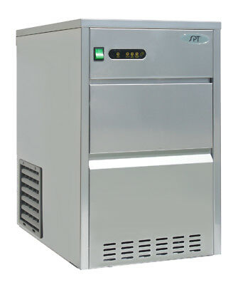 Sunpentown Spt 66 Lbs Automatic Stainless Steel Ice Maker - Im-661c
