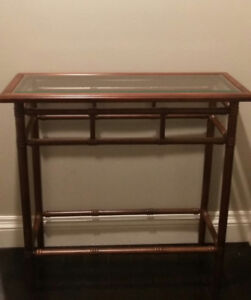 Vintage 1989 Bombay Company hall table console table sofa table