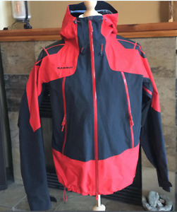 Mammut Men's Large Albaron GoreTex Hardshell Jacket