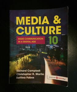 Media & Culture: Mass Communication in a Digital Age 10th editio