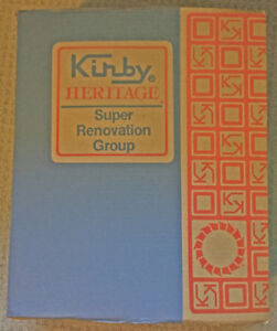 Kirby vacuum accessories and attachments
