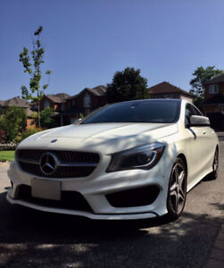2015 Mercedes-Benz White CLA 250 Sedan