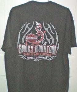 Set of Three Harley 2 Sided T Shirts Size XL London Ontario image 5