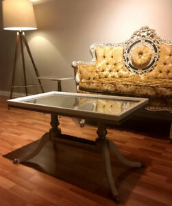 Antique Duncan Phyfe Coffee Table set