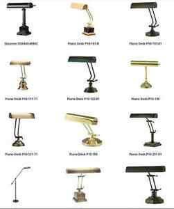 Piano Lamps - House Of Troy - Available in Store!