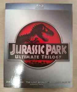 Jurassic Park Ultimate Trilogy Blu-Ray