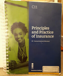 CIP C11 Principles & Practice of Insurance (2018 edition)