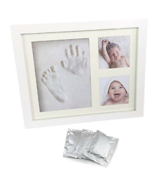 Baby Handprint and Footprint Picture Frame KIT