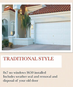 New Garage Doors starting at $650 Installed Call 416-613-8002 Oakville / Halton Region Toronto (GTA) image 4
