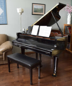 A Yamaha grand piano for sale